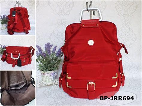 Tas Wanita Berkualitas A770 jual beli tas ransel wanita import junfa merah