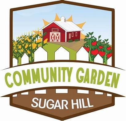 Garden Community Park Clipart Plots Season Gary
