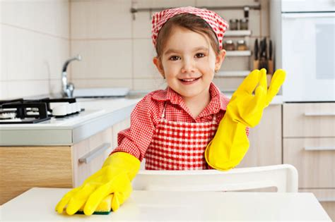 cleaning houses under the table skip making the bed 10 other chores your kid should do