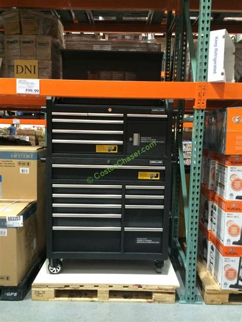 kirkland signature  mobile tool chest costcochaser