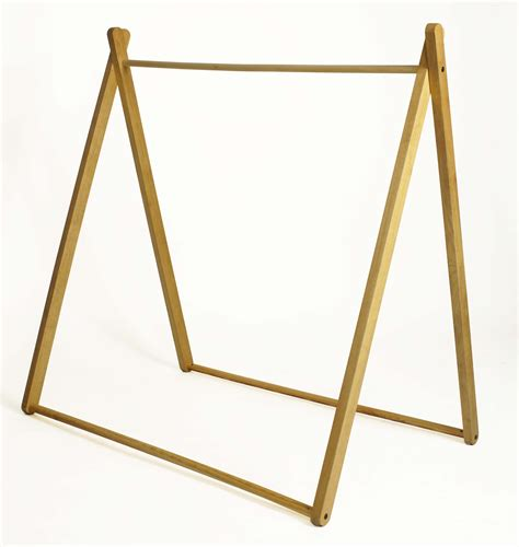 frame tent black stripes curioo wooden toys