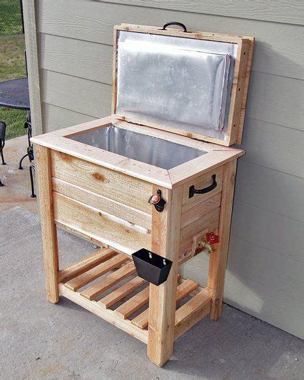 rustic cedar fence picket deckporch coolericebox
