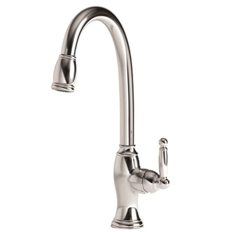 newport brass kitchen faucets nadya pull kitchen faucet 2510 5103 newport