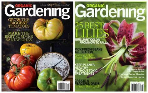 Organic Gardening Magazine $. Or Urban Farm Magazine $