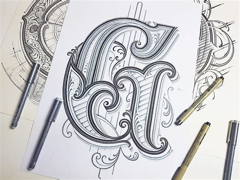Letter G by Mateusz Witczak on Dribbble