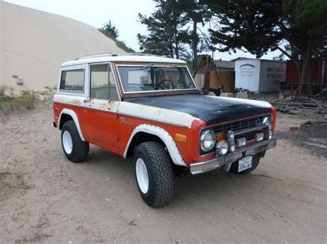 stroppe bronco sell used 1973 bill stroppe baja ford bronco rust free