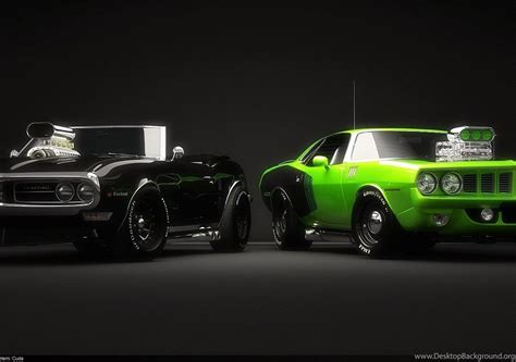 11 Muscle Car Hd Wallpapers Desktop Background