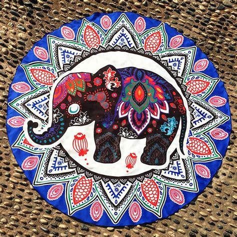 disenos de elefantes hindues en mandalas significado  dibujos  descargar mandalas