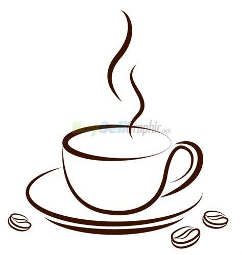 coffee bean graphic   clip art