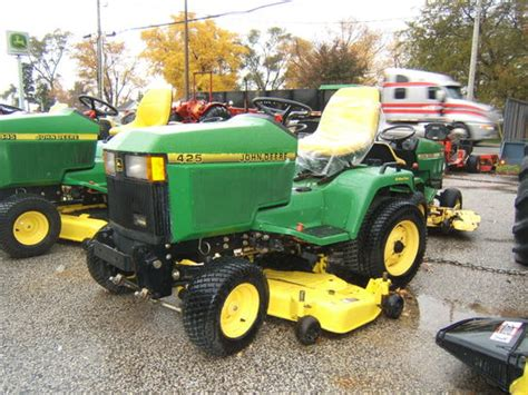 deere 425 aws w 54 quot mower no interest no payments until may 2014 oac lawn garden and