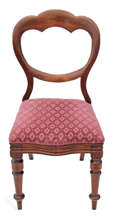 vintage bedroom chairs walnut dining chair balloon back bedroom 3164