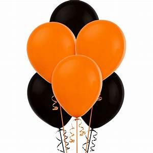 Orange & Black ... Balloons