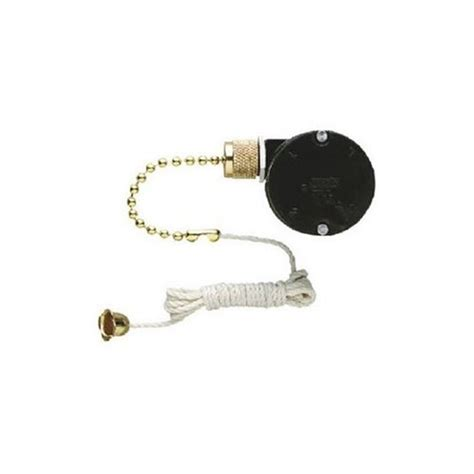 Ceiling Fan Pull Switch by Raco 6404 3spd Pull Chain Switch Switches Outlets