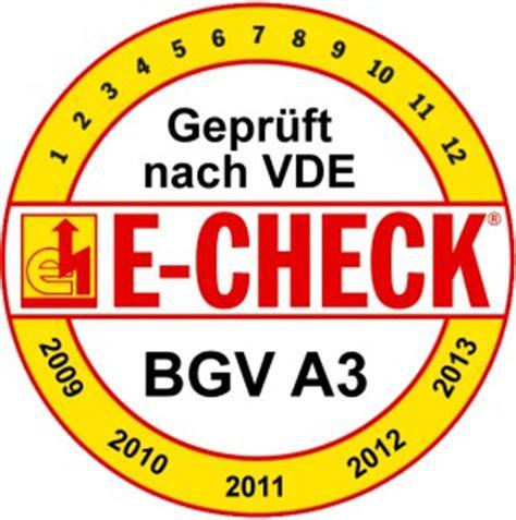 E Check Stromnetz Auf Schaeden Pruefen Lassen by Infos Zum E Check Lange Event
