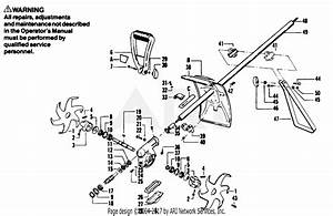 Poulan 5500 Gas Trimmer Parts Diagram For Power Hoe Assembly