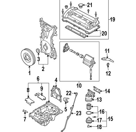 Parts Mazda Strainer Oil Partnumber