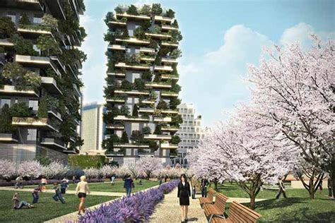 Vertical Garden Apartments In Milan