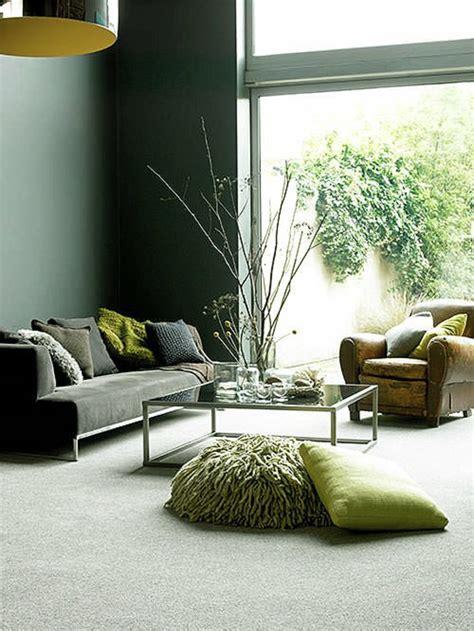 Wandgestaltung Wohnzimmer Grün by Wandfarbe Ideen Die Sie Beim Anblick Sicherlich Fesseln