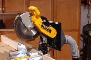 Miter Saw Dust Collection System