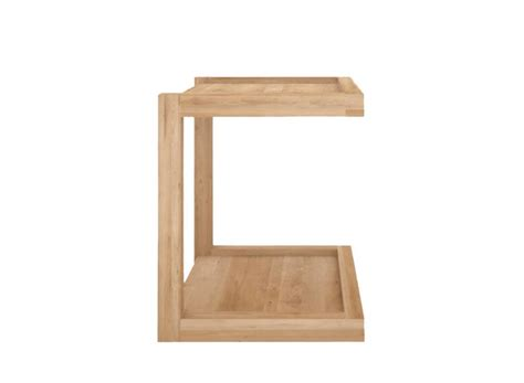 sofa side table oak oak frame sofa side table 48 40 48 ethnicraft online