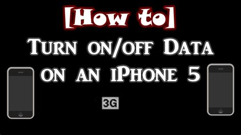 how to turn on a iphone 5 how to turn data on an iphone 4s 5
