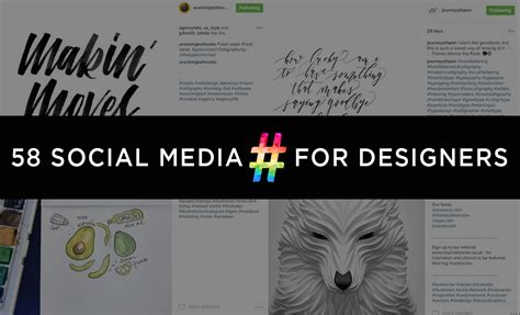 Home Design Hashtags : Social Media Hashtags For Graphic Designers