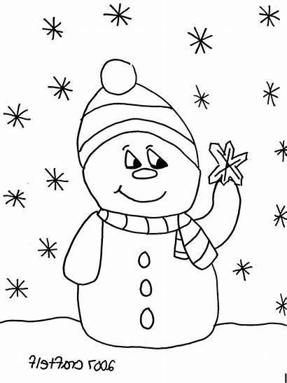 Colorare Neve Weihnachten Ausmalbilder Coloring Disegni Snowflake