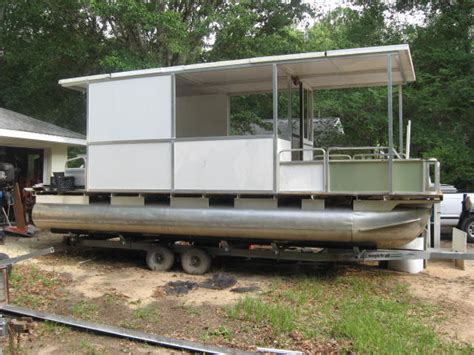 Pontoon Boat With Cabin For Sale by Plywood Pontoon Boat Page 3