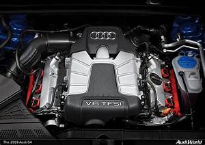 The Audi S4  Engine