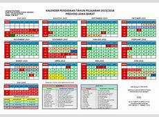 Kalender Pendidikan Tahun 20152016 Provinsi Jawa Barat