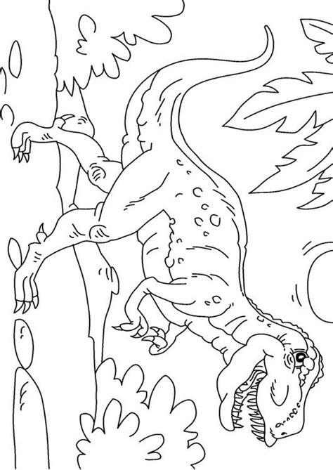 Kleurplaat Dino Rex by Kleurplaat Dinosaurus Tyrannosaurus Rex Afb 27625