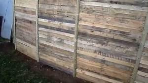 Faire Une Cloture En Bois : comment faire une palissade pour pas un sous youtube ~ Dallasstarsshop.com Idées de Décoration