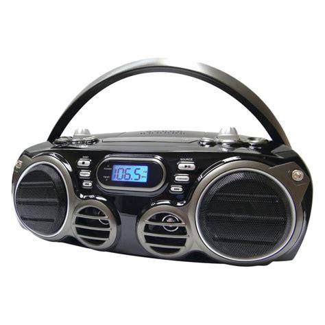 Rd Ijo Bpom sylvania 174 srcd682bt bluetooth portable cd radio boom box