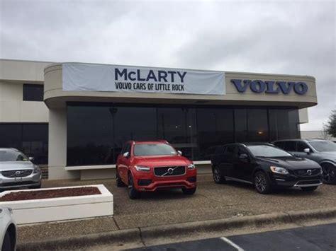 mclarty volvo cars   rock  rock ar