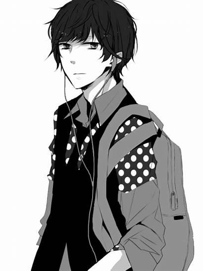 Boy Manga Anime Transparent Boys Guy Guys