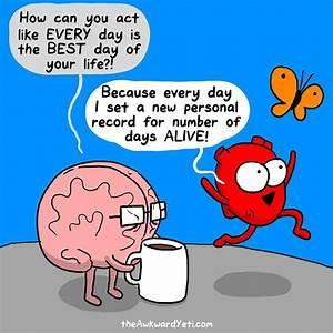 Funny Comics Show the Constant Struggle Between the Heart ...