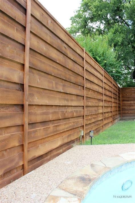 pictures of horizontal fences the backyard a new horizontal fence hi sugarplum