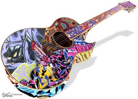 Grafiti Gitar : Worth1000 Contests