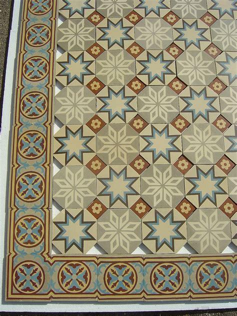 octagonal ceramic floor tiles with inserts the antique