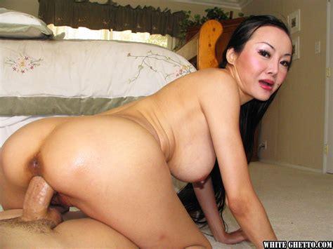 Bosomy Asian Milf Ange Venus Gets Her Shaved Cunt Drilled