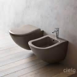 designer wc colored designer wall hung wc bidet for bathroom ceramica cielo