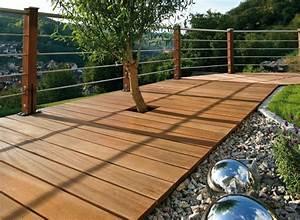 Decoration Terrasse En Bois : decoration terrasse bois exterieur decoration mur de jardin maison email ~ Melissatoandfro.com Idées de Décoration