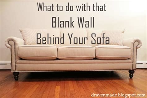 What Does Settee by Ideas For That Blank Wall The Or Anywhere In