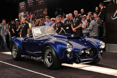 hottest cars  barrett jackson scottsdale auction