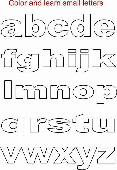 Alphabet Letters Printable Letter Stencils Alphabets Coloring