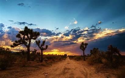 Desert Mojave Wallpapers California Sunset Background Desktop