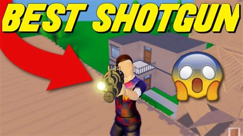 advanced shotgun  strucid  shotgun youtube