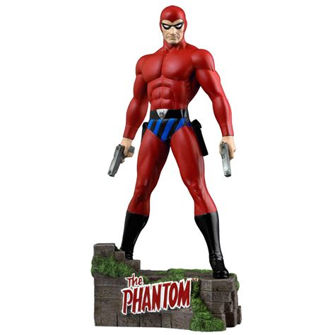 Ikon Collectibles The Phantom The Ghost Who Walks Red ...