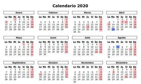 calendario diciembre enero