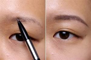 Penciled Drawn On Eyebrows